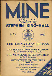 Mine Edited By Stephen King - Hall . May 1936 The Attack On Mount Everest