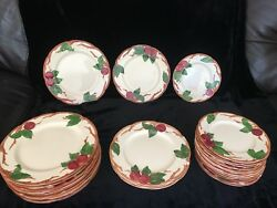 Franciscan Apple Dinnerware With Platters And Serving Bowls
