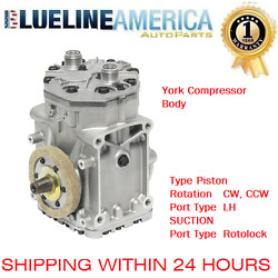 NEW AC COMPRESSOR 0024 fits ET210L WESTERN STAR VOLVO PETERBILT VW FORD MERCURY