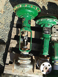 Fisher Type Ed 2 Inch Class 150rf 657 Actuated Valve