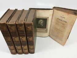 The History Of England From The Revolution... 5 Volumes By T. Smollett M.d. 1820