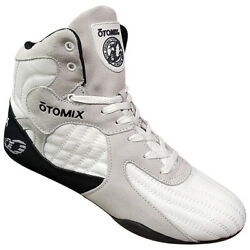 Otomix Stingray Escape Bodybuilding Weightlifting Mma Grappling Shoes White