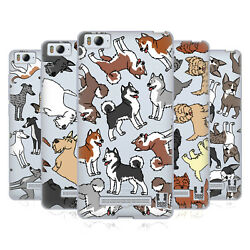 HEAD CASE DESIGNS DOG BREED PATTERNS 6 SOFT GEL CASE FOR XIAOMI PHONES