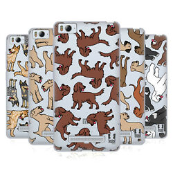HEAD CASE DESIGNS DOG BREED PATTERNS 8 SOFT GEL CASE FOR XIAOMI PHONES