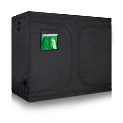 600D High-Reflective Mylar Water-Resistant Grow Tent Room w/Removable Floor Tray