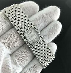 Bedat And Co. 3 Diamond Dial Stainless Steel Watch Only