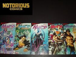 King In Black Namor 1-5 Complete Comic Lot Run Set Marvel Collection