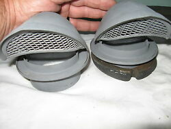 VINTAGE CHRYSLER REAR AIR SCOOPSOR RAT ROD AIR CLEANERS