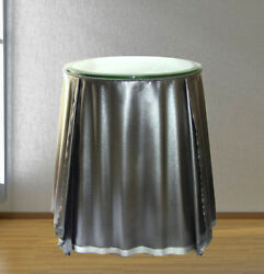 Steel Draped Table In The Style Of John Dickinson Galvanized Originals