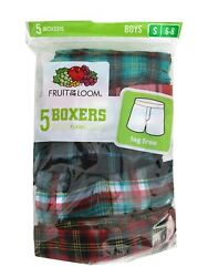 Fruit of the Loom - Boys' Assorted Boxers 5-Pack