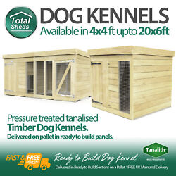 Dog Kennel And Run Full Tanalised Pressure Treated Timber All Sizes Available