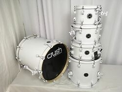 Crush Chameleon Complete 5 Piece Shell Pack Drum Kit w- 20