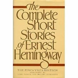 The Complete Short Stories Of Ernest Hemingway, Th