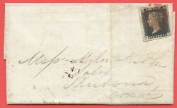Sg. 2 C. A1 2 H. As41. Ga . 1d Black. Plate 6. A Fine Used Example On Cover