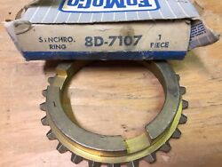 48-52 Ford Pick Up Truck Nos Fomoco Transmission Syncro Ring Brass 8d-7107
