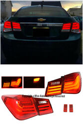 For 11-15 Chevrolet Cruze Sedan Bmw Style Rear Trunk Led Tail Light Signal Lamps