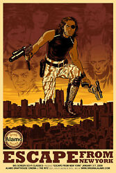 Escape From Ney York By Nick Derington - Rare Sold Out Mondo