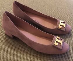 New French Gray Suede Gigi Kitten Pumps Sz 7.5 Retail 265 Sold Out