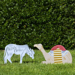 Outdoor Nativity Store Outdoor Nativity Set Add-on - Donkey And Camel Color