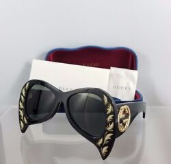Brand New Authentic Gucci GG 0143S 002 Sunglasses GG0143 Frame
