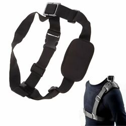 Universal Single Shoulder Strap Mount Chest Harness Belt Travel For GoPro 2 3 4 $8.19