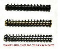 Cds Stainless Steel Guide Rod Assembly Coated Rod For Glock 17 19 20 Gen 1-3