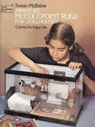 Miniature Needlepoint Rugs For Dolls Houses Dove... By Mcbaine Susan Paperback