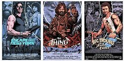 Escape From Ny - The Thing - Big Trouble By Chris Weston - Sold Out Not Mondo