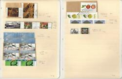 Germany Modern on Paper Lot Semi Postals 2 Stock Pages