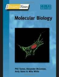 Bios Instant Notes In Molecular Biology By White, Michael Paperback Book The