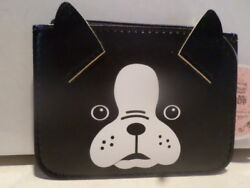 Adorable Boston Terrier Small Wallet and Keychain!