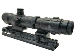 Red Dot Sight With 3x Flip To Side Magnifier Combo-utg T-dot Rifle Scope-leapers