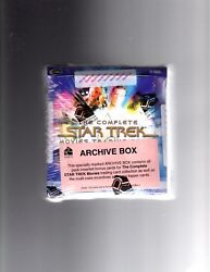 The Complete Star Trek Movies Sealed Archive Box