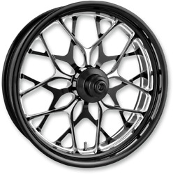 Performance Machine Platinum Abs 21 Galaxy Front Wheel For 14-19 Harley Touring