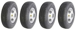 Set Of 4 16 Trailer Tire And Wheel - 235 80 R16 - 10 Ply - Goodride