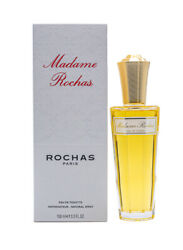 Madame Rochas By Rochas 3.4 Oz Edt Perfume For Women New In Box