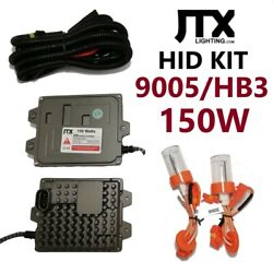 9005 Hb3 Hid Kit 150w In 4300k 6000k Or 8000k And 2 Year Melbourne Based Warranty