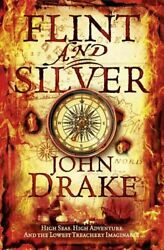 Flint and Silver John Silver 1 by Drake John Paperback Book The Fast Free $21.28