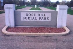 2 Cemetery Plots - Rose Hill Burial Park - Akron Ohio - Masonic Section