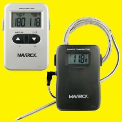 Et-71os By Maverick Wireless/remote Smoker/bbq Dual Readout Probe Thermometer