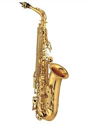 Yamaha Alto Sax Yas-62 Iii W/ Case And Mouthpiece From Japan New F/s