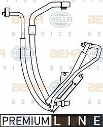 9GS 351 337-591 HELLA High Pressure Line, air conditioning