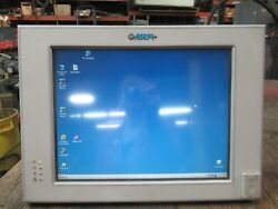 Asem Touch Screen Operator Interface Panel Ws 600 15 H3 Ws60015h3 7 Amp @ 24vdc