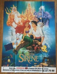 Little Mermaid Original Vintage Poster Banned Images Tower Phallic Towers Recall