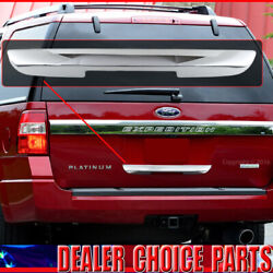 2008-2017 Ford Expedition Triple Chrome Tailgate Handle Cover Lower Accent