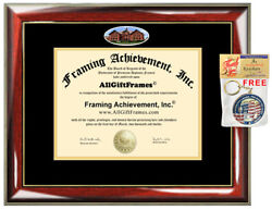 Montana State University Diploma Frame Campus Picture MSU Degree Certificate