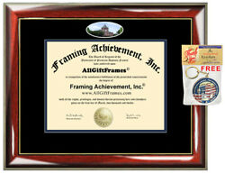 University of New Hampshire Diploma Frame campus photo College Graduation Gift