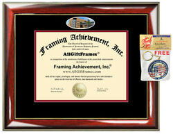 New Jersey Institute of Technology Diploma Frame campus photo College Graduation