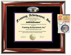 New York University Diploma Frame campus photo College Degree Certificate Gift