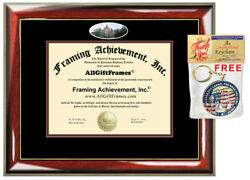 Oberlin College Diploma Frame campus photo College Degree Certificate Gift